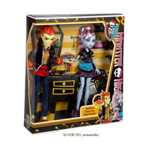 Monster High Heath Burns & Abbey Bominable - Original Mattel