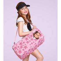 Mala Carregar Boneca E Acessórios - Tipo American Girl