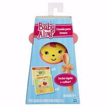 Baby Alive Refil Comidinha + Tigela + Colher Original Hasbro