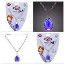 Colar Amuleto Princesa Sofia, Original Loja Disney P/entrega