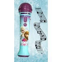 Frozen Microfone Mp3 Importado Eua Disney