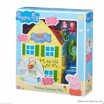 Casa Da Peppa Pig - Especial De Férias + George E Acessórios