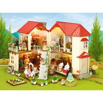 Sylvanian Families Casa Da Cidade Com Luzes - 2753