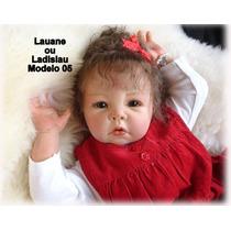 Boneca Bebê Reborn Lauane Ou Ladislau