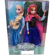 Bonecas Do Filme Frozen Anna E Elsa 30 Cm - A Pronta Entrega