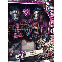 Monster High Zumbi Meowlody E Purrsephone - Mattel