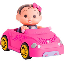 Boneca Monica Com Carro Conversivel Brinquedo Multibrink