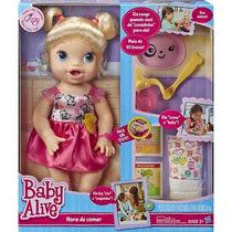 Baby Alive Hora De Comer - Original Hasbro - Todas As Cores