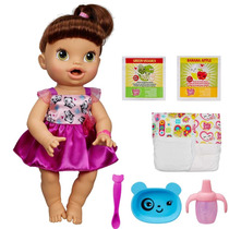 Boneca Baby Alive Morena Hora De Comer A8346 - Hasbro