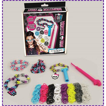 Fabrica Pulseiras De Elástico Monster High Mini Loom Pop