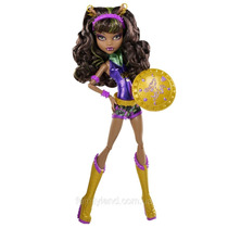 Monster High Power Ghouls Clawdeen Wolf Wonder Wolf