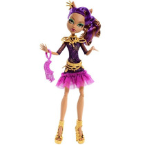 Boneca Monster High Clawdeen Wolf Luz Camera Ação Mattel