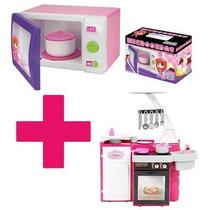 Mix Microondas Magic Toys + Cozinha Classic Cotiplás