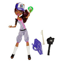 Monster High Boneca Esporterror Clawdeen