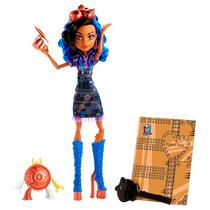 Boneca Monster High Robecca Steam Aula De Arte - Mattel