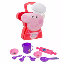 Kit Chef De Cozinha - Peppa Pig - Multikids