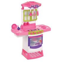 Cozinha Mágica Eletrônica Super - Magic Toys Super Oferta