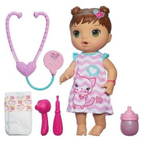 Boneca Baby Alive Cuida De Mim Morena Original Da Hasbro
