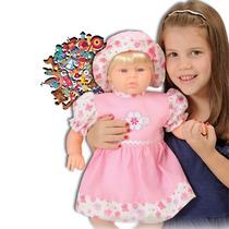 Boneca Julia - Canta Canções De Roda - Adijomar Brinquedos