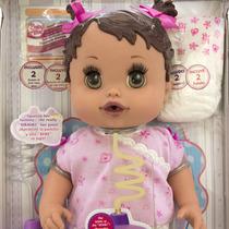 Boneca Bebê Reborn Baby Alive Toma Suquinho Faz Xixi Hasbro