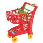 Carrinho Compras Market Vermelho - Magic Toys Frete Grátis!!