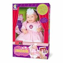 Boneca Fantoche Encantado Com Aplicativo -novo2015 -cotiplás