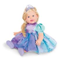 Boneca Charmosa Princesas Loira 2042 Cotiplás Frete Grátis