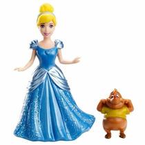Boneca Mini Princesa Disney Magiclip Cinderela - Mattel