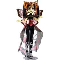 Boneca Monster High Boo York Novas Estrelas Goth Moth