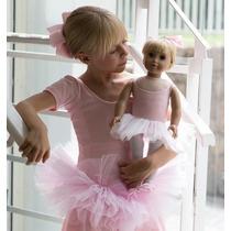 Roupa Bailarina Boneca - Tipo American Girl