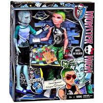 Monster High Mansters Gil Webber E Deuce Gorgon