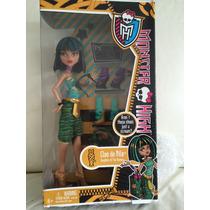 Boneca Monster High Cleo De Nile Na Caixa
