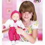 Boneca Bebê Doutora Bell + Acessórios De Médica C/ N Fiscal