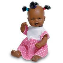 Boneca Sapekinha Negra - Milk Brinquedos