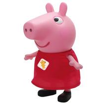 Boneca Peppa Pig Vinil 32cm - Multibrink