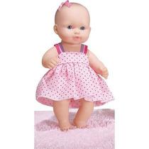 Boneca Baby Junior Fofinha Com Vestido Cotiplás Frete Grátis