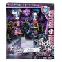 Monster High Zombie Shake Irmãs Gata Meowlody E Purrsephone