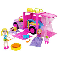 Boneca Polly Pocket - Trailer Safari - Mattel