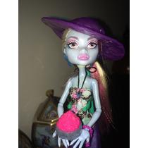Monster High- Abbey Coleção Ilha Esqueleto - Original