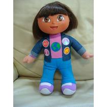 Boneca Bebê Baby Dora Aventureira Nickelodeon Orig Fala 31cm