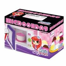 Microondas Com Panelinha Meg - Novo - Magic Toys