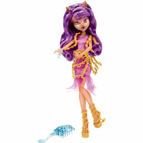 Monster High Assombrada Clawdeen Wolf - Mattel