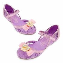 Sapato Princesa Rapunsel Tam23,24, Original Disney P/entrega