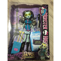 Boneca Monster High Frankie Stein Scaris City -nova Na Caixa