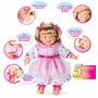 Boneca Bebê Dengosa - 5 Sensores Que Acionam A Fala