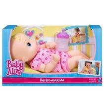 Baby Alive Recém Nascida - Hasbro Nova