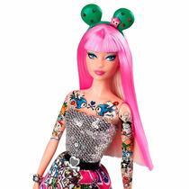 Barbie Colecionável - Tokidoki Black - Mattel - 7796-8