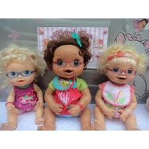 Acessório Boneca Baby Alive Miracle Adora Doll -kit 4 Óculos