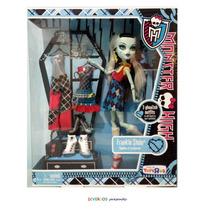 Monster High Frankie Stein Guarda Roupa - Original Mattel
