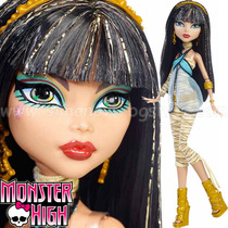 Monster High - Cleo De Nile - Coleção Monstrinhas Clássicas